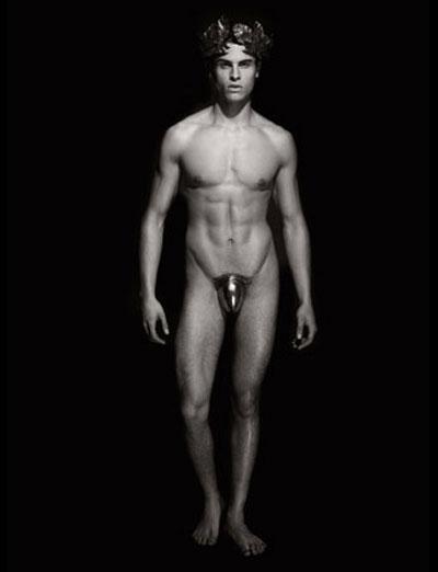фото моделей голых парней