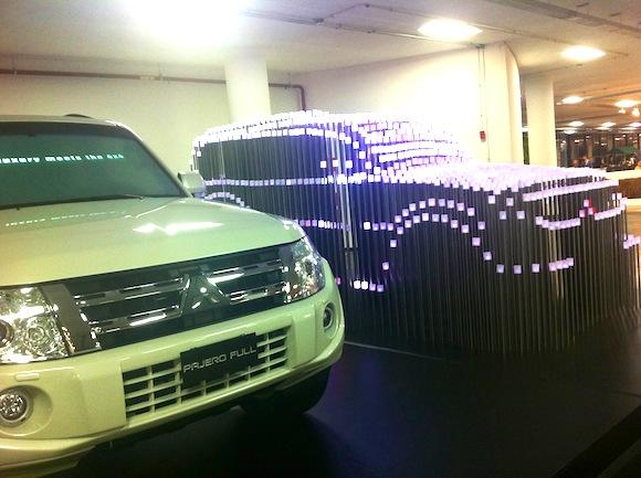 Instalação da Mitsubishi