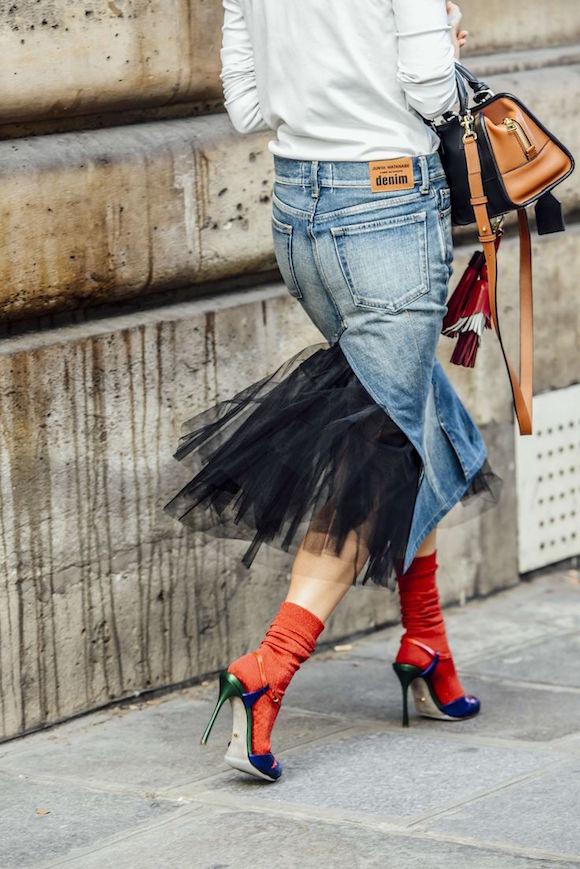 Moda Tendencia Scarpin Meia 03 Street Style