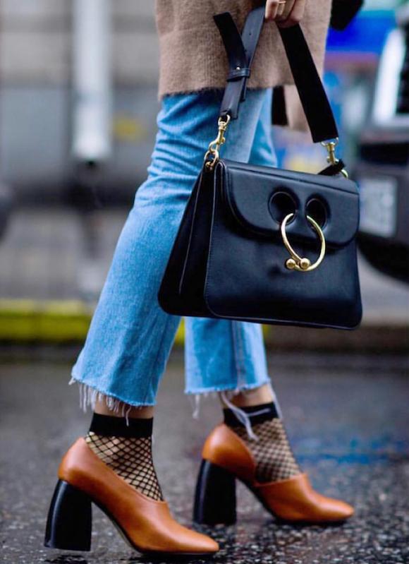 Moda Tendencia Scarpin Meia 04 Street Style