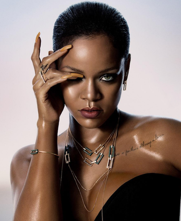 Rihanna Chopard Jewelry 01