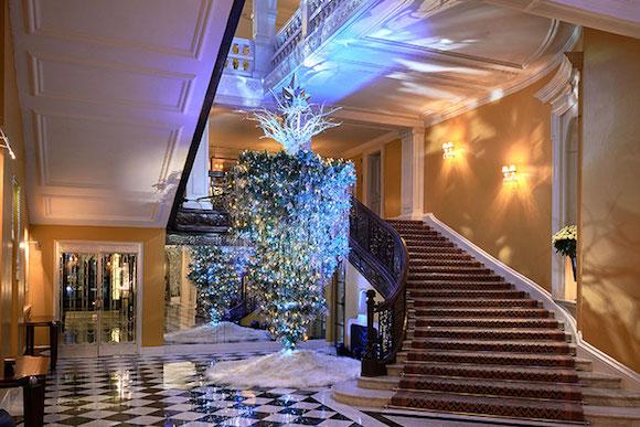 Arvore de Natal Hotel Claridges Londres by Lagerfeld 02