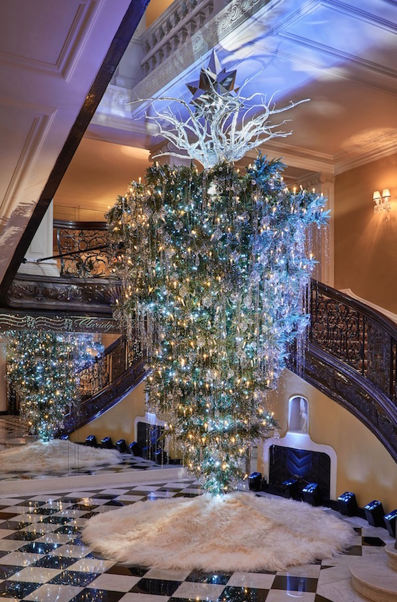 Arvore de Natal Hotel Claridges Londres by Lagerfeld 03